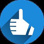 Qualität Empfehlung Button