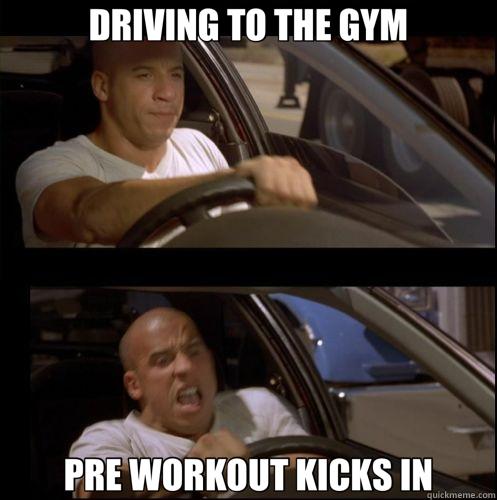 Pump Booster selber machen - Pre workout kicks in