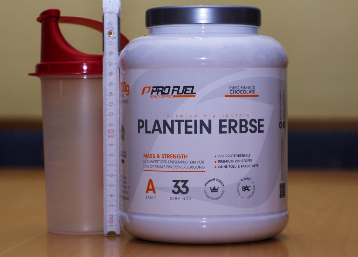 Profuel Plantein Erbse Test - Verpackung