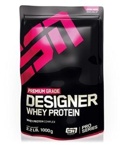 ESN Designer Whey Protein Test - Vorderseite